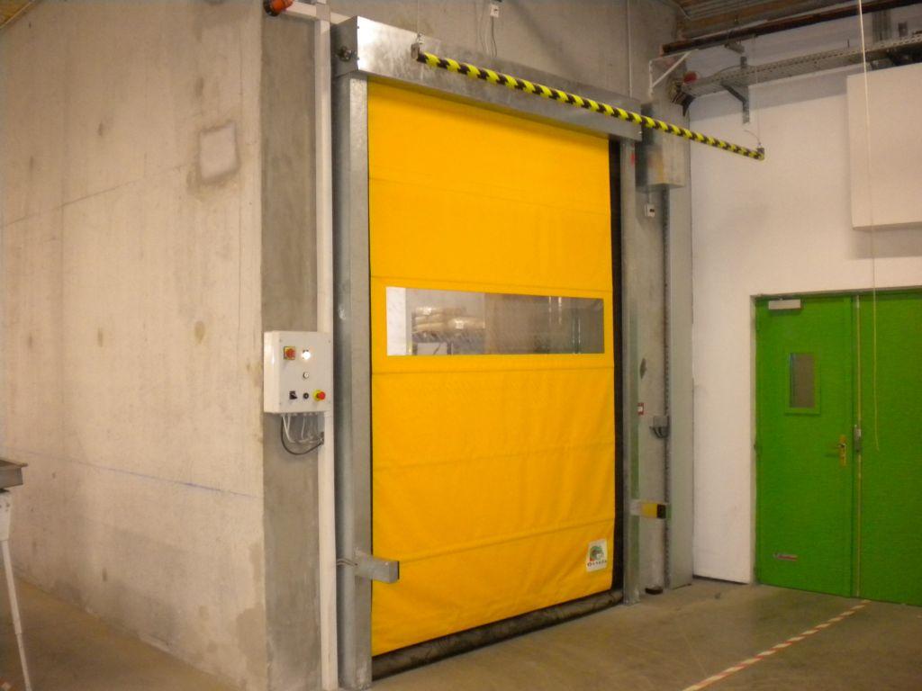Porte Souple Rapide Metallique Open Speed