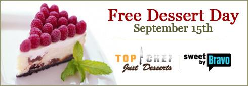 Top Chefs Just Desserts: Free Dessert Day