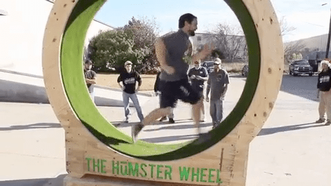SPE: London VMUG April:- Certification Hamster wheel