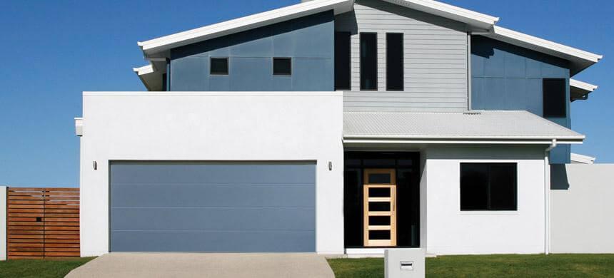 Thick Flush Panel Garage Doors  Open Up Garage Door Inc