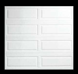 Thick Raised Ranch Panel Garage Doors  Open Up Garage