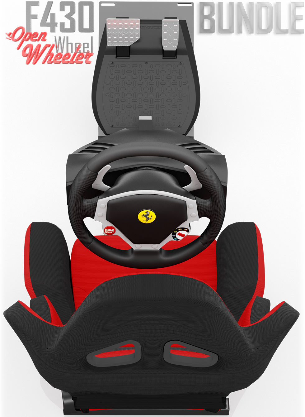 A review of the Thrustmaster Ferrari 430 steering wheel