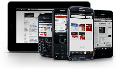 Opera для телефонов и планшетов