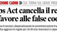 """Redazione di Operai Contro, i dirigenti sindacali della CGIL sono preoccupati La Flai Toscana esprime estrema preoccupazione per quanto emerso dall'indagine della Guardia costiera e dei Carabinieri, che ha appurato a Livorno l'esistenza di fenomeni di caporalato anche nell'ambito della pesca. """"Secondo il quadro offerto dalle autorità, la vicenda è iniziata l'8 giugno2016 con il fermo di un uomo, a bordo di un motopeschereccio, per un controllo. Egli, mentre veniva avvicinato, ha gettato un lavoratore in mare perché arruolato irregolarmente. Il senegalese è stato poi salvato da un bagnino."""" Cari dirigenti del sindacato preoccupatevi. Il caporalato funziona anche nei […]"""