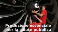All'Avio Aero di Pomigliano oggi si lavora.
