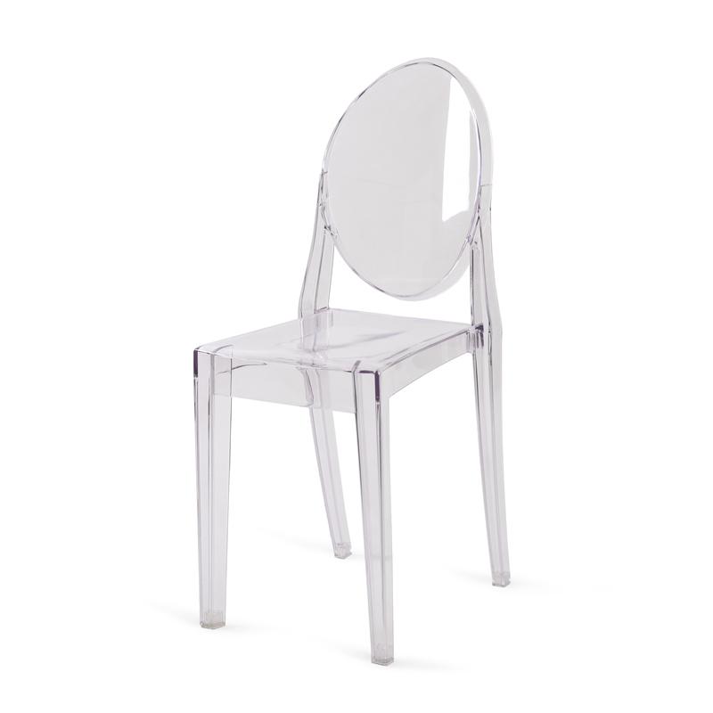 location de chaise medaillon victoria ghost transparente