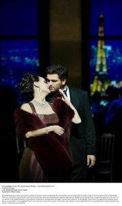 La traviata nypremiären på DKT Operaen
