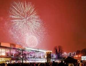 Nyårsfirande på Malmö Opera