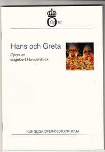 Hans och Greta på Kungliga Operan - synopsis
