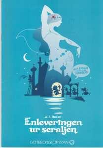 Enleveringen ur seraljen på GöteborgsOperan - synopsis