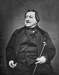 Gioacchino Rossini italiensk kompositör 1792-1868
