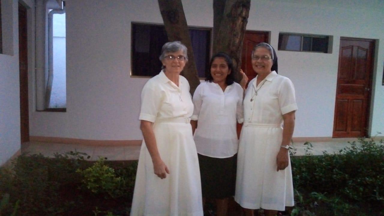 Bienvenida hermana Marcela