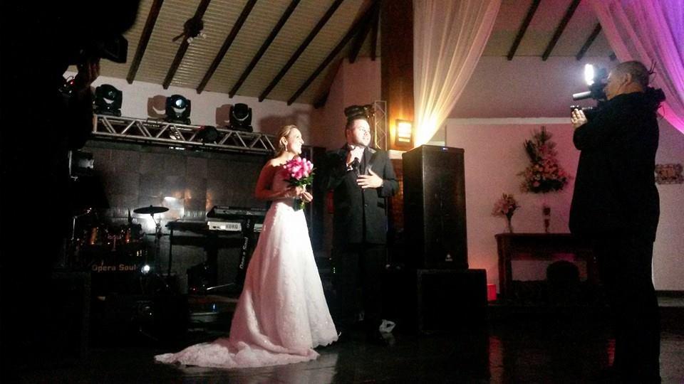 Casamento de Dani e Ricardo- Piazza Demarchi SBC- banda Ópera Soul
