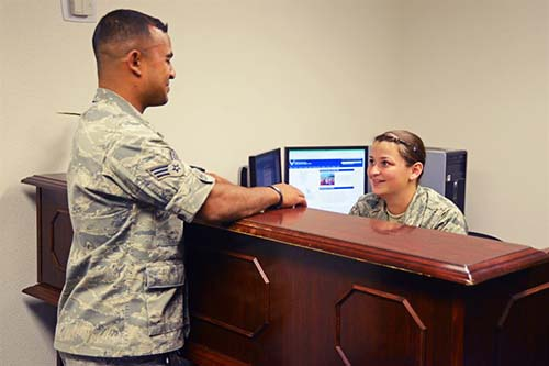 Air Force paralegals and Staff Judge Advocates work