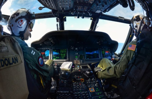 navy helicopter pilot - best jobs in the navy