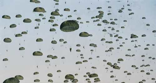 army airborne school practice jumps