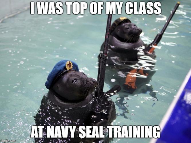 navy seal training meme