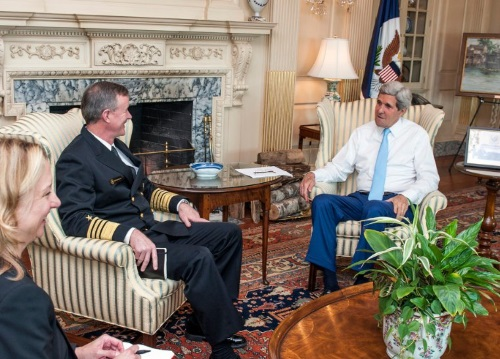 admiral mcraven with john kerry