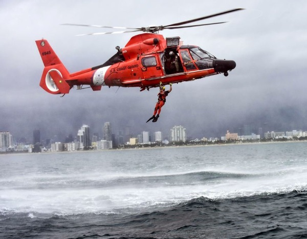 coast guard rescue swimmer