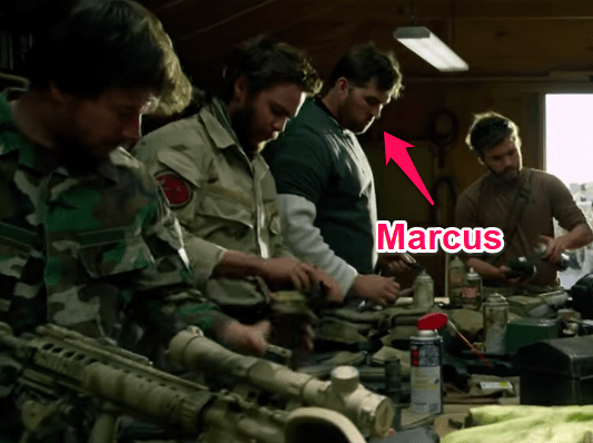 marcus luttrell cameo in lone survivor
