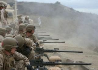 marine machine gunner - mos 0331