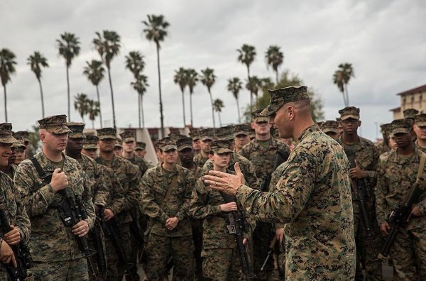 marines at camp pendleton