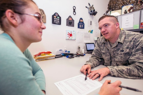 how to write a letter to a military recruiter