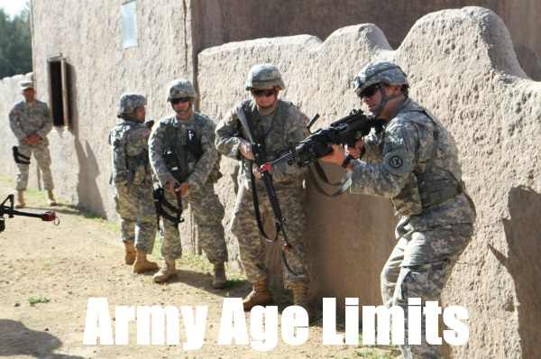 US Army Age Limits For Reserve, Enlisted, And Officers