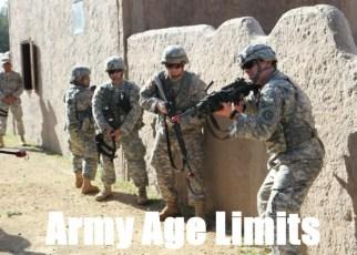 army age limits