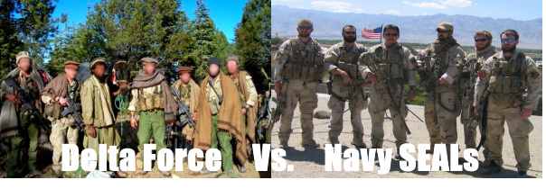 Delta Force vs  Navy SEALs: Differences In Training, Selection, And More
