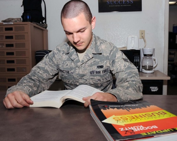 joining the air force with a ged
