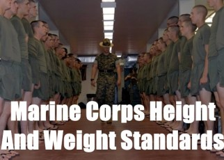 marine corps height and weight standards