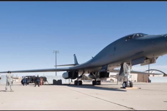 an Refuel/Bomber Aircraft Maintenance at work