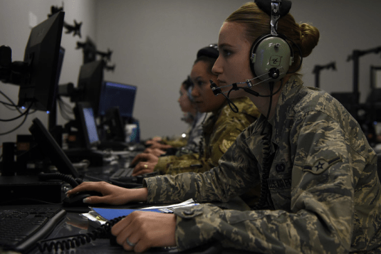 an Command and Control Battle Management Operations at work