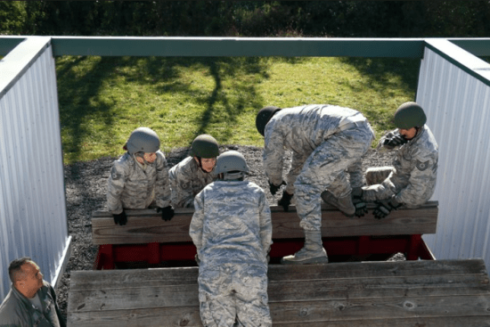 an Air National Guard Strength Management (3G0X1) at work