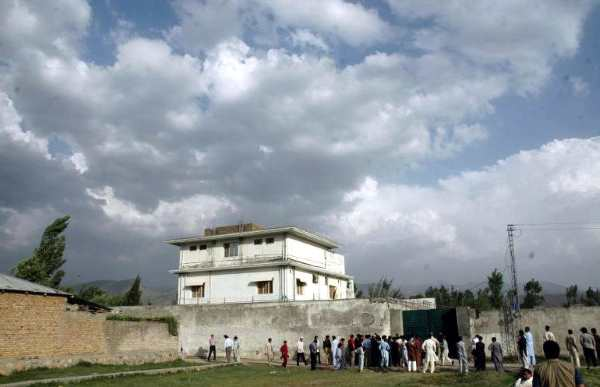Osama Bin Ladens compound in Pakistan