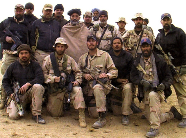 special activities division operatives with hamid karzai
