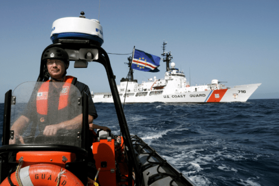 an Boatswain's Mate at work