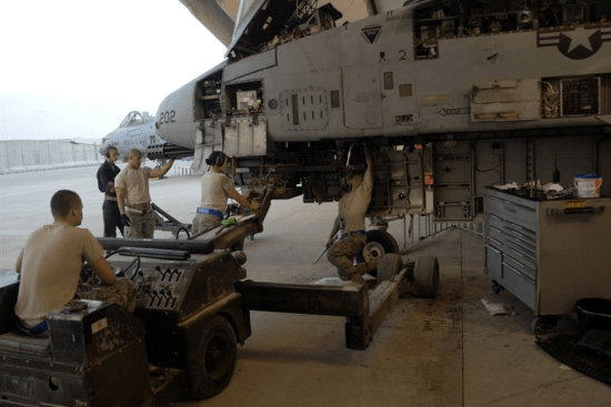 an Avenger System Repair (94T) at work