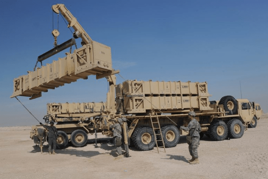 an PATRIOT Launching Station Enhanced Operator/Maintainer at work
