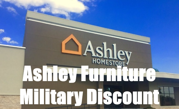 ashley furniture military discount
