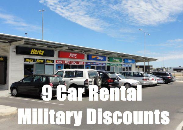 car rental military discount