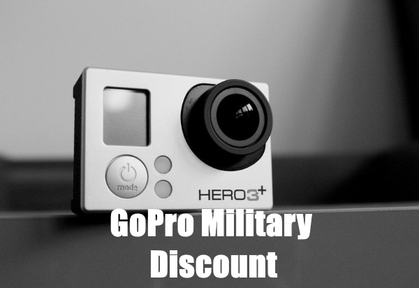 gopro military discount