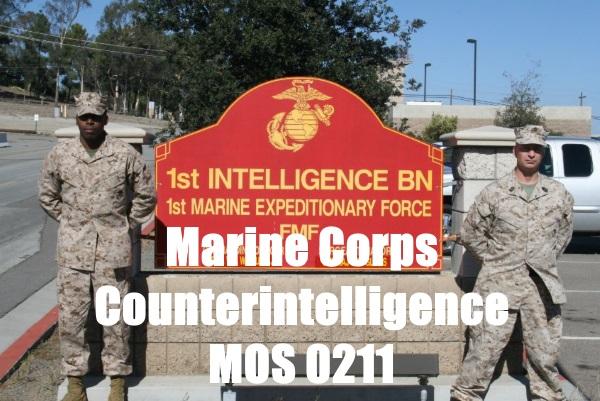 Marine Counterintelligence (MOS 0211): 2019 Career Details