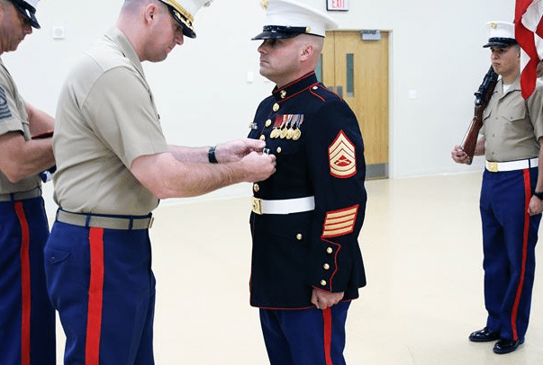 marine gunnery sergeant retirement ceremony