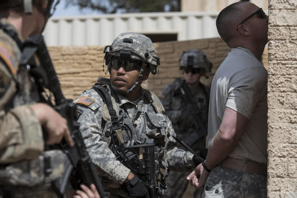 military police training