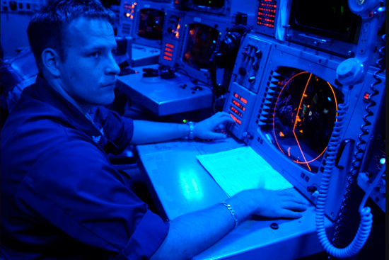 an Operations Specialist at work