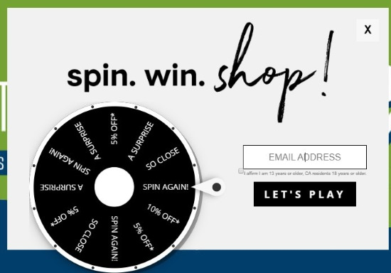 spin wheel shop