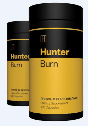 1 bottle of hunter burn