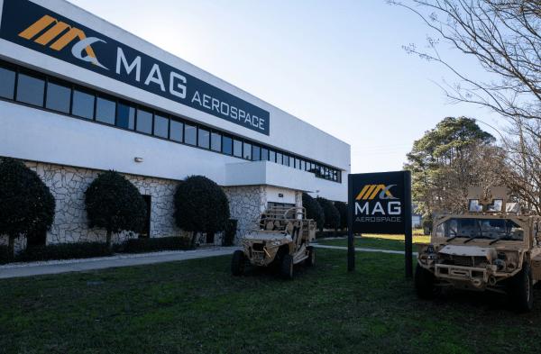 mag aerospace - private military company